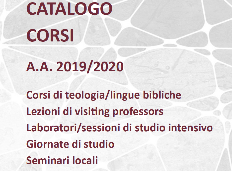 Course catalogue 2019/20